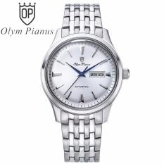 Nơi bán Đồng hồ nam dây kim loại tự động Automatic Olym Pianus OP990-141AMS trắng