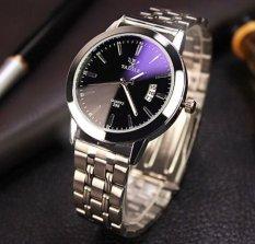 Nơi bán Đồng hồ nam Dây kim loại Yazole European Business kg575 (Mặt Đen)