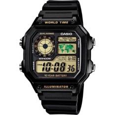 Đồng hồ nam dây nhựa Casio AE-1200WH-1BVDF bán chạy