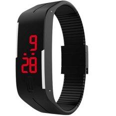 Hình ảnh Đồng hồ nam dây nhựa dẻo Sport LED II TTP (Đen)
