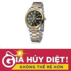 Bán Đồng Hồ Nam Day Thep Bản Đồ Việt Nam Sino Mặt Đen Tpo S8688 Tặng Vong Tay Đa Đen Trong Hà Nội