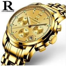 Đồng hồ nam dây thép đặc dạ quang Ontheedge 036 (fullbox)