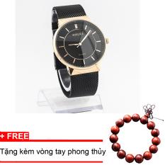 Giá Bán Đồng Hồ Nam Day Thep Khong Gỉ Halei Tặng Kem Vong Tay Phong Thủy Hlvt6766 Vietnam