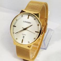 Đồng hồ nam dây thép lụa thời trang LONGBO 5028 bán chạy