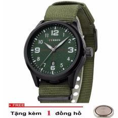 Bán Đồng Hồ Nam Day Vải Cao Cấp Curren A102 Curren Có Thương Hiệu