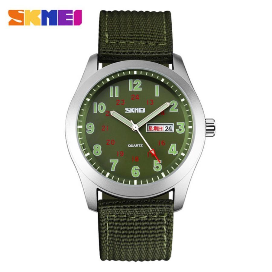 Đồng hồ nam dây vải dù cao cấp SKMEI 9112