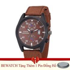 Mua Đồng Hồ Nam Day Vải Nato Bewatch Nau Tặng Kem 01 Vien Pin Rẻ Hà Nội