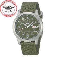 Đồng Hồ Nam Day Vải Seiko Snk805K2 Bạc Seiko Chiết Khấu 30