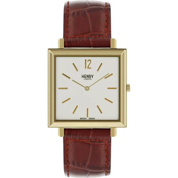 Đồng hồ nam Henry London HL34-QS-0268 HERITAGE SQUARE
