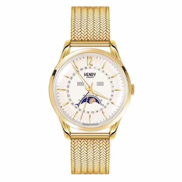 Đồng hồ nam Henry London HL39-LM-0160 WESTMINSTER (Vàng)