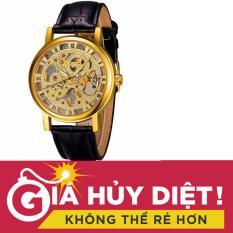Mua Đồng Hồ Nam Lộ May Cơ Day Da Winner Mdl Wn137 Đen Rẻ Hà Nội