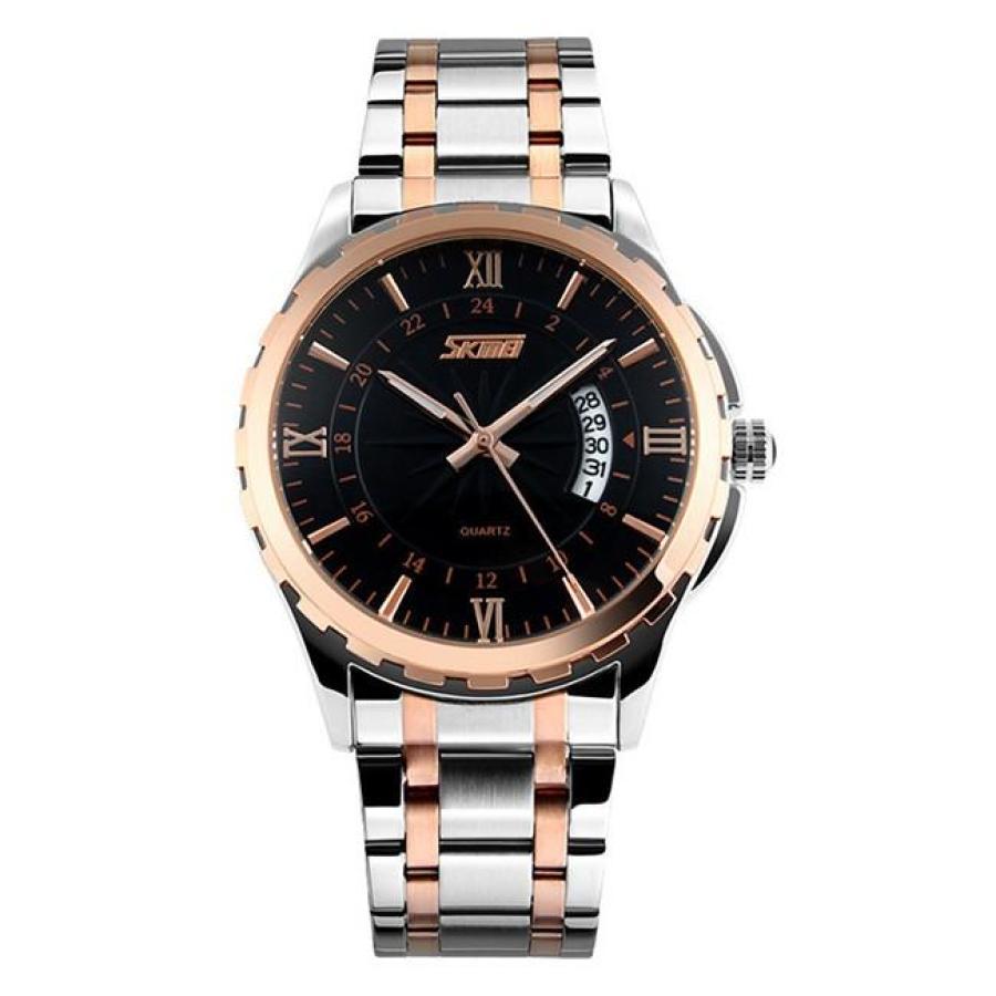 Đồng hồ nam thời trang chống nước SK 9069  Đen sk05Đồng hồ nam thời trang Skmei