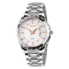 Nơi bán Đồng hồ nam thời trang chống nước Skmei 9069 ( Vàng ) 01