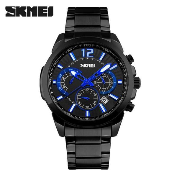 Đồng hồ nam thời trang chống nước Skmei 9108 ( Đen ) SK 07