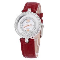 (Ưu Đãi Khủng) Đồng hồ nữ cao cấp SINO JAPAN dây da đính đá SI8388 + Tặng kèm hộp đựng & pin sạc dự phòng 2600mAh bán chạy