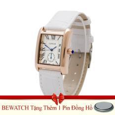 Giá Bán Rẻ Nhất Đồng Hồ Nữ Day Da Be Watch Trắng Tặng Kem 01 Vien Pin