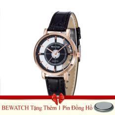 Bán Đồng Hồ Nữ Day Da Bewatch 0001591 Đen Tặng Kem 01 Vien Pin Rẻ Trong Hà Nội