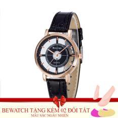 Giá Bán Đồng Hồ Nữ Day Da Bewatch 0001591 Đen Tặng Kem 02 Đoi Tất Nhãn Hiệu Bewatch