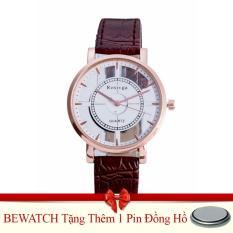 Giá Bán Đồng Hồ Nữ Day Da Bewatch 0001592 Nau Tặng Kem 01 Vien Pin Bewatch Mới