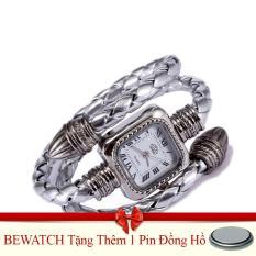 Mã Khuyến Mại Đồng Hồ Nữ Day Da Bewatch Bạc Tặng Kem 01 Vien Pin Bewatch Mới Nhất