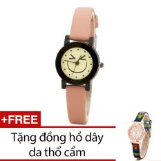 Bán Đồng Hồ Nữ Day Da Bewatch Hồng Tặng Kem 1 Đồng Hồ Nữ Day Da Thổ Cẩm Bewatch Trong Hà Nội