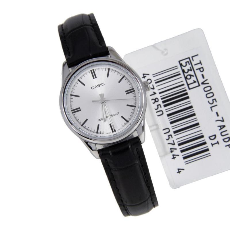 Đồng hồ nữ dây da Casio LTP-V005L-7AUDF