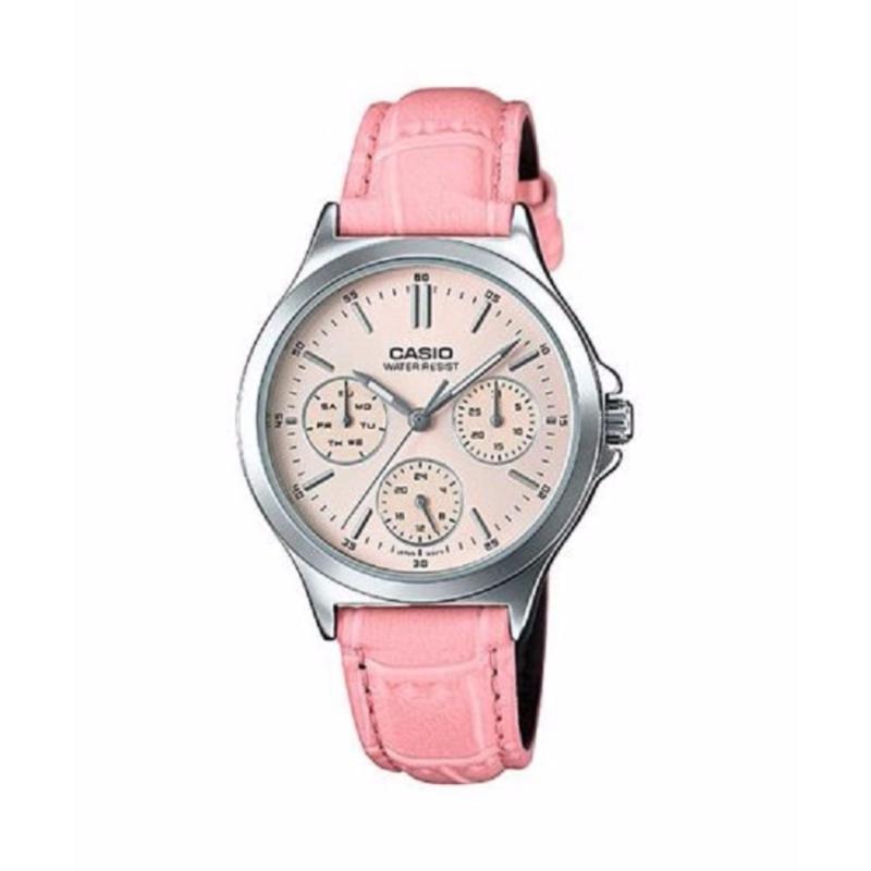 Đồng hồ nữ dây da Casio LTP-V300L-4AUDF