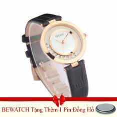 Đồng Hồ Nữ Day Da Guou 1512 Đen Tặng 01 Vien Pin Rẻ