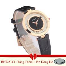 Giá Bán Đồng Hồ Nữ Day Da Guou 1512 Đen Tặng Kem 01 Vien Pin Bewatch Nguyên
