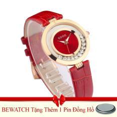 Bán Đồng Hồ Nữ Day Da Guou 1512 Đỏ Tặng Kem 01 Vien Pin Trực Tuyến Trong Hà Nội