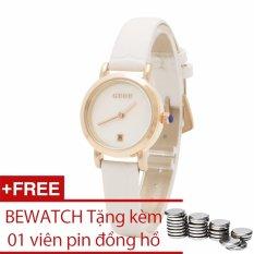 Mã Khuyến Mại Đồng Hồ Nữ Day Da Guou Tặng Them 01 Vien Pin Bewatch