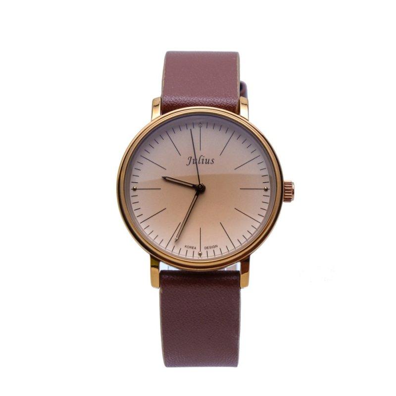 Nơi bán Đồng hồ nữ dây da Julius PJU1005 (Nâu)