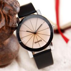 Đồng hồ nữ dây da kính 3D Hongkong electronics (mặt nhỏ)