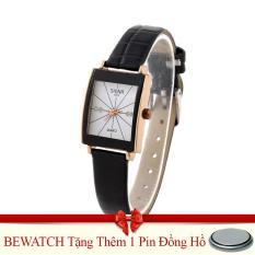 Bán Đồng Hồ Nữ Day Da Shina Be Watch Bwn34 Nau Tặng Kem 01 Vien Pin Nguyên