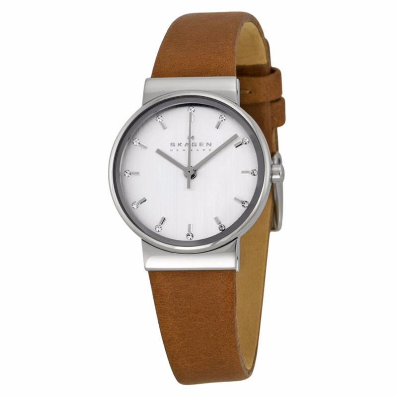 Nơi bán Đồng hồ nữ dây da Skagen SKW2192 (Nâu)