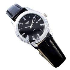 Nơi bán Đồng hồ nữ dây da SWIDU K0KN91 (Đen)