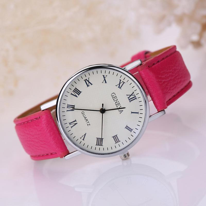 Đồng hồ nữ dây giả da Geneva AY030_PL6617