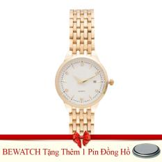 Giá Bán Đồng Hồ Nữ Day Kim Be Watch Bs1741 Vang Tặng Kem 01 Vien Pin Rẻ