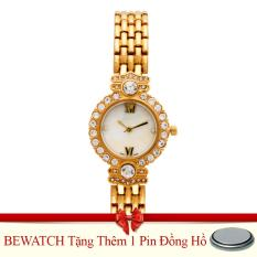 Đồng Hồ Nữ Day Kim Loại Be Watch Bw1741 Vang Tặng Kem 01 Vien Pin Trong Hà Nội