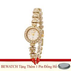 Đồng Hồ Nữ Day Kim Loại Be Watch Kg184 Vang Tặng Kem 01 Vien Pin Bewatch Chiết Khấu 30