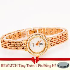 Giá Bán Đồng Hồ Nữ Day Kim Loại Be Watch Tặng Kem 01 Vien Pin Trực Tuyến