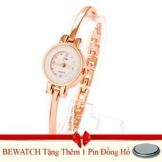 Đồng Hồ Nữ Day Kim Loại Bewatch 000184 Vang Tặng Kem 02 Đoi Tất Hà Nội Chiết Khấu