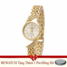 Giá Bán Đồng Hồ Nữ Day Kim Loại Bewatch 000810 Vang Tặng Kem 01 Vien Pin Nguyên Bewatch