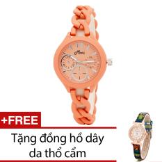 Chiết Khấu Đồng Hồ Nữ Day Kim Loại Bewatch Cam Tặng Kem 1 Đồng Hồ Day Da Thổ Cẩm Bewatch Trong Hà Nội