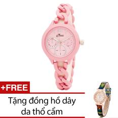 Giá Bán Đồng Hồ Nữ Day Kim Loại Bewatch Hồng Tặng Kem 1 Đồng Hồ Day Da Thổ Cẩm Bewatch Hà Nội