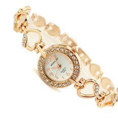 Hình ảnh Đồng hồ nữ dây kim loại Be.Watch Hr1741 (Vàng)