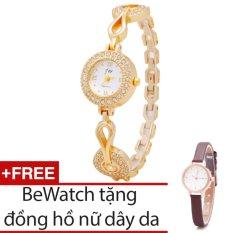 Mua Đồng Hồ Nữ Day Kim Loại Bewatch Tặng Kem 1 Đồng Hồ Day Da Rẻ Trong Hà Nội