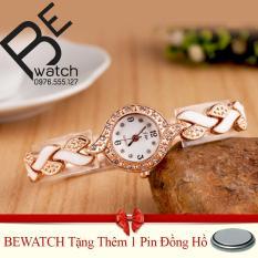 Bán Mua Trực Tuyến Đồng Hồ Nữ Day Kim Loại Bewatch Vang Tặng Kem 01 Vien Pin