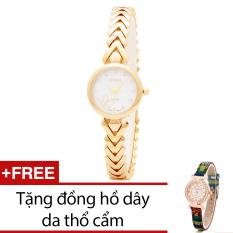 Giá Bán Đồng Hồ Nữ Day Kim Loại Bewatch Vang Tặng Kem 1 Đồng Hồ Day Da Thổ Cẩm Trong Hà Nội