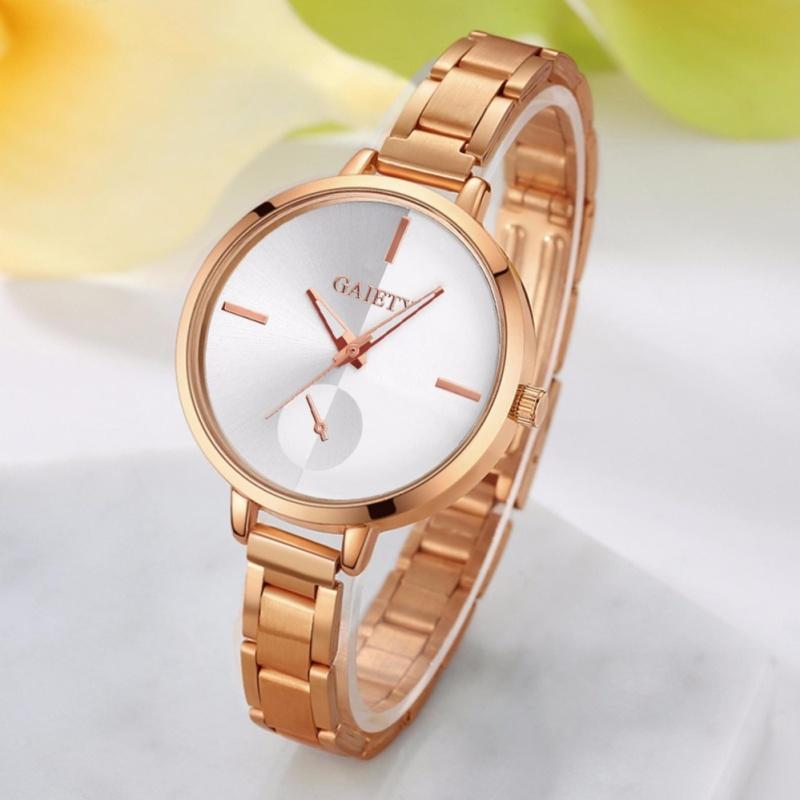 Đồng hồ nữ dây kim loại Gaiety PKHRGA001-1 (vàng)